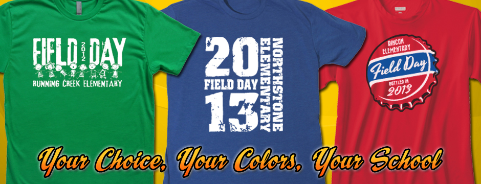 Campus Id Wear: Field Day 2013 | Campus Id Wear is YOUR source for ...