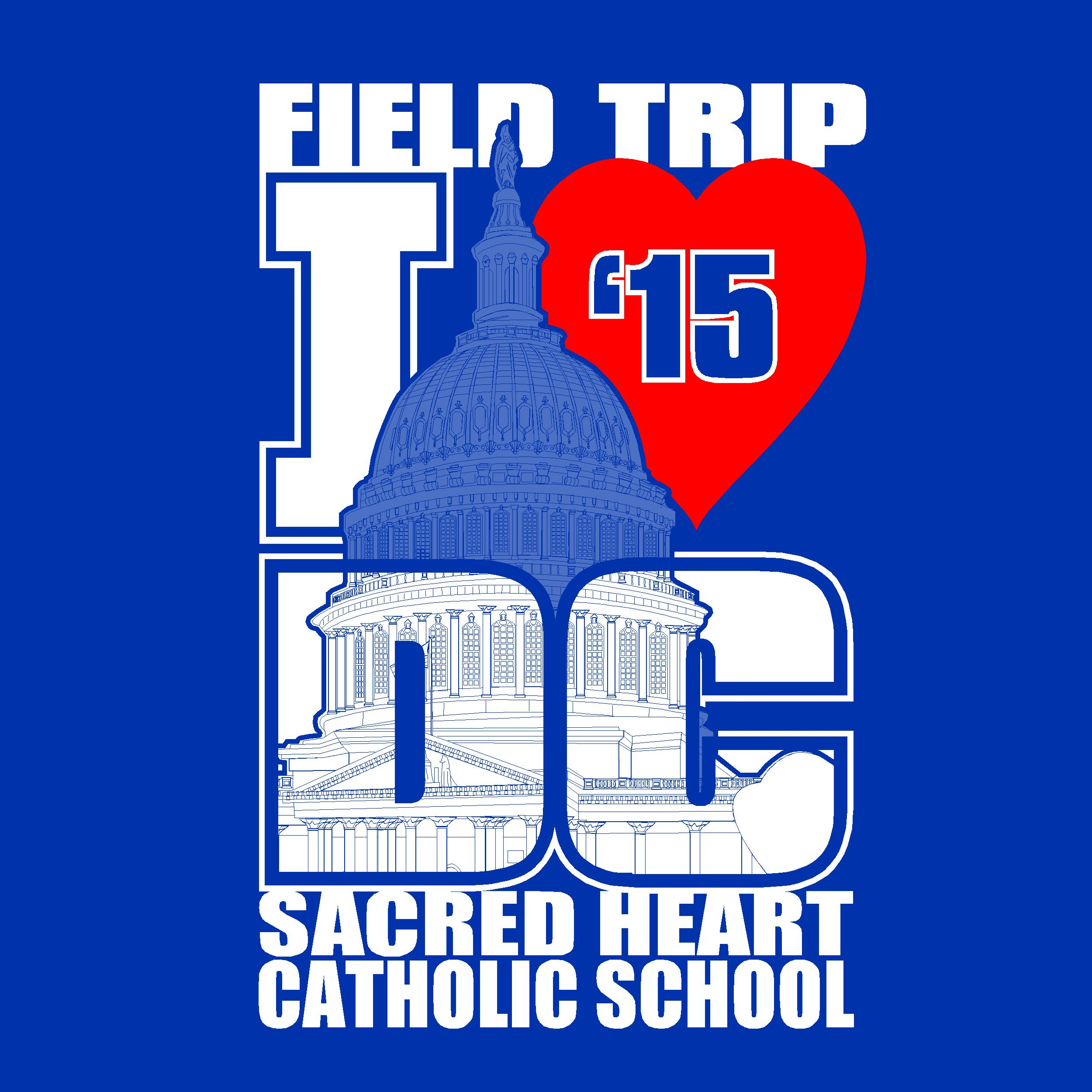 Field trip i love dc campus id wear field day 2013 for T shirts printing washington dc